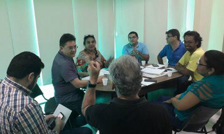 Diretoria do Sindicato APEOC se reúne com Coletivo de Educação Inclusiva