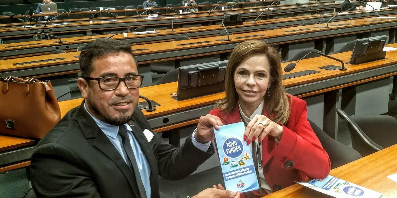 FOLHA DE SÃO PAULO: PROPOSTA PARA O FUNDEB PREVÊ GASTO MAIOR DA UNIÃO