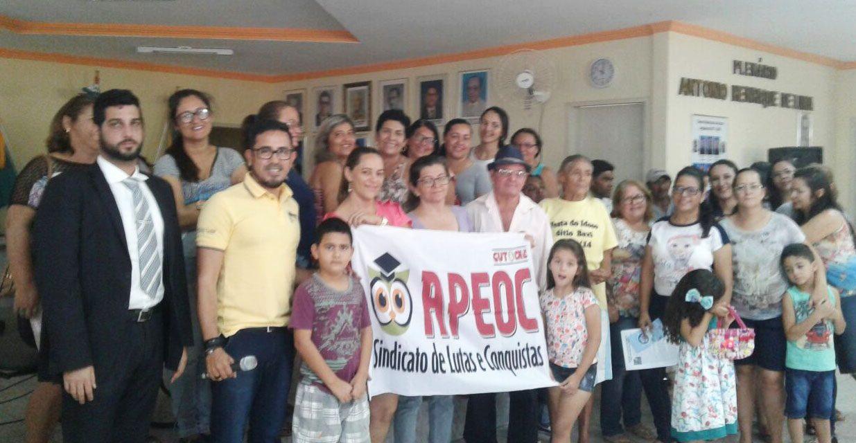 Araripe: Anizio Melo participa de eleição e posse da Comissão Municipal