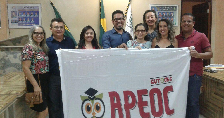 Nova Olinda: Educadores contam agora com representação do Sindicato APEOC