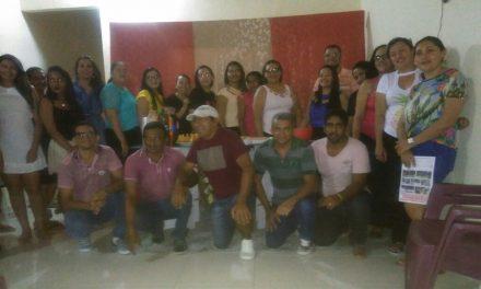 Parambu: Sindicato APEOC realiza plenária e confraternização de fim de ano