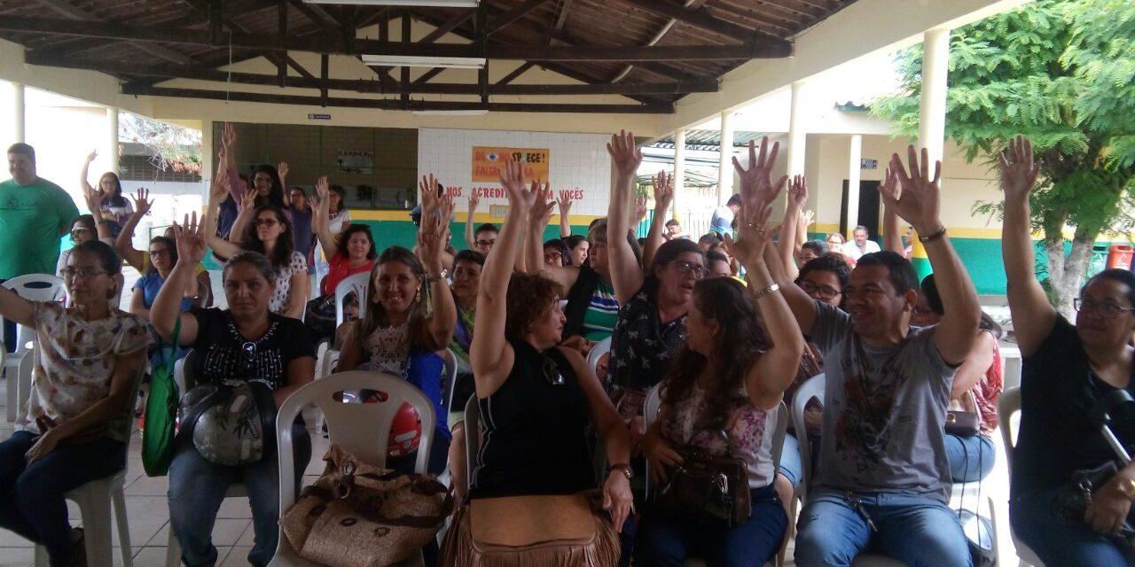 Tauá: Greve é suspensa após conquista de reivindicações