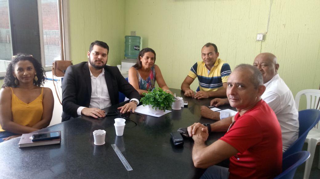Paracuru: Sindicato tem audiência com novo prefeito