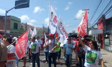 Dia Nacional de Luta no Ceará leva multidão às ruas