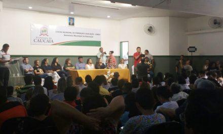 Caucaia: 160 professores são empossados após luta do Sindicato APEOC
