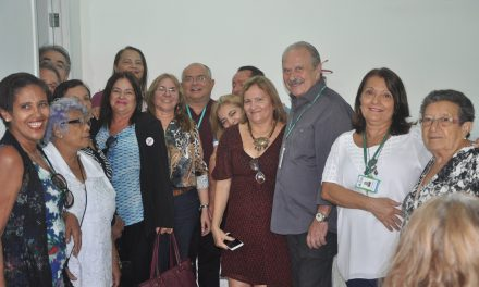 Fortaleza: Sindicato APEOC participa de inauguração no Instituto de Previdência