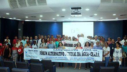 Fórum Alternativo Mundial da Água: luta pela democratização