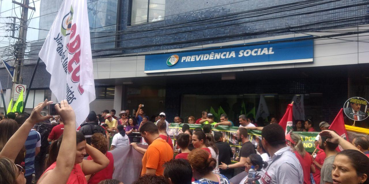 APEOC no Dia Nacional de Luta contra a Reforma da Previdência