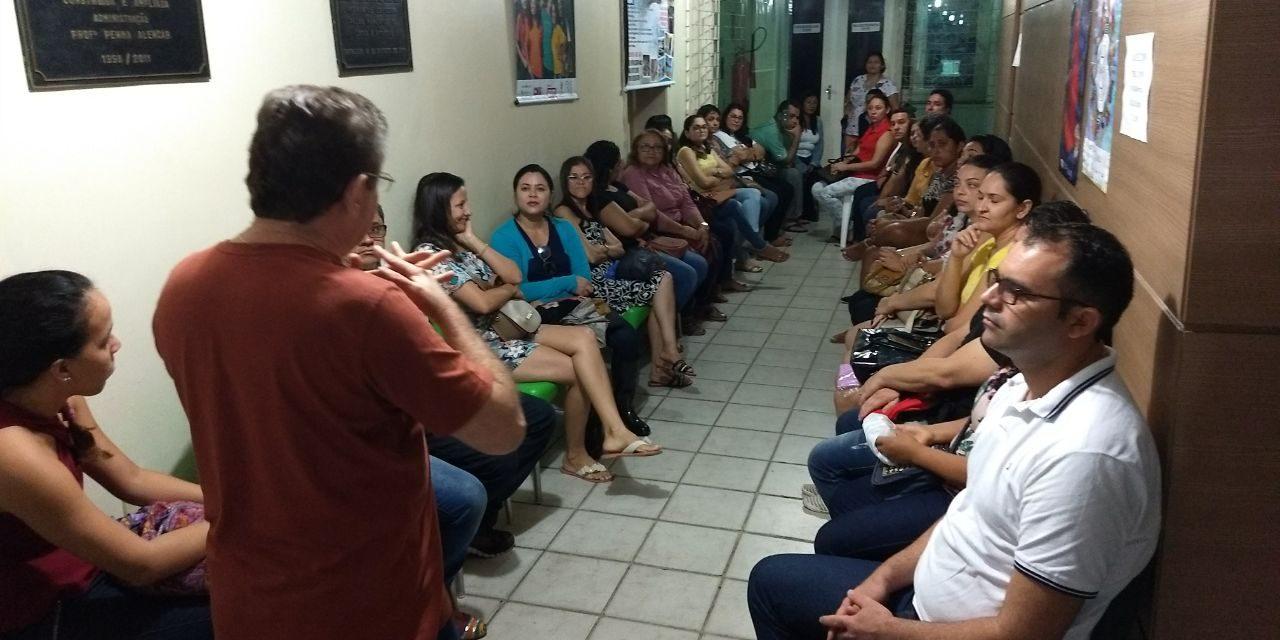 Maranguape: Plenária discute convocação de professores do cadastro de reserva