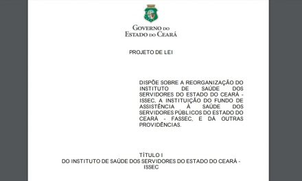 Novo ISSEC: Comissão convoca servidores para apresentação do projeto