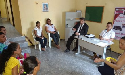 Caridade: Sindicato APEOC discute pautas de interesse da categoria