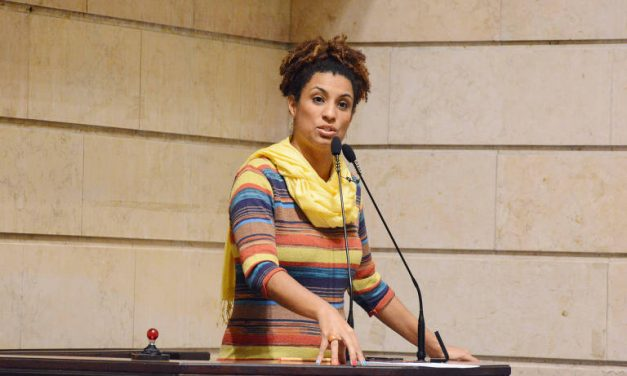 Nota de pesar pela morte da vereadora carioca Marielle Franco