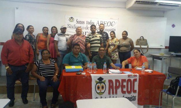 Parambu: Sindicato APEOC realiza plenária e discute pautas de interesse da categoria