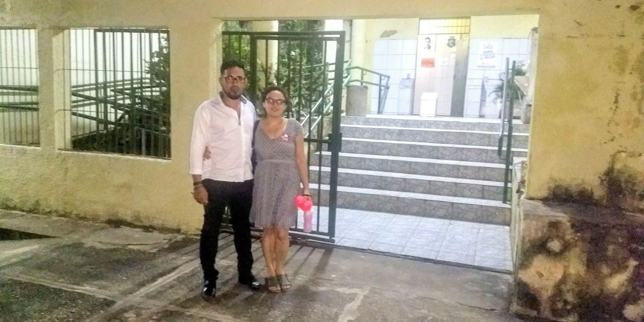 Fortaleza: Anizio Melo presta solidariedade aos docentes assaltados em Escola Ubirajara