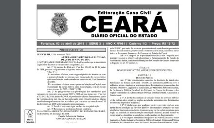 Novo Issec: Publicada lei de reorganização