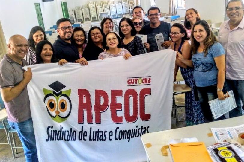 Sindicato APEOC dá início as Plenárias Regionais