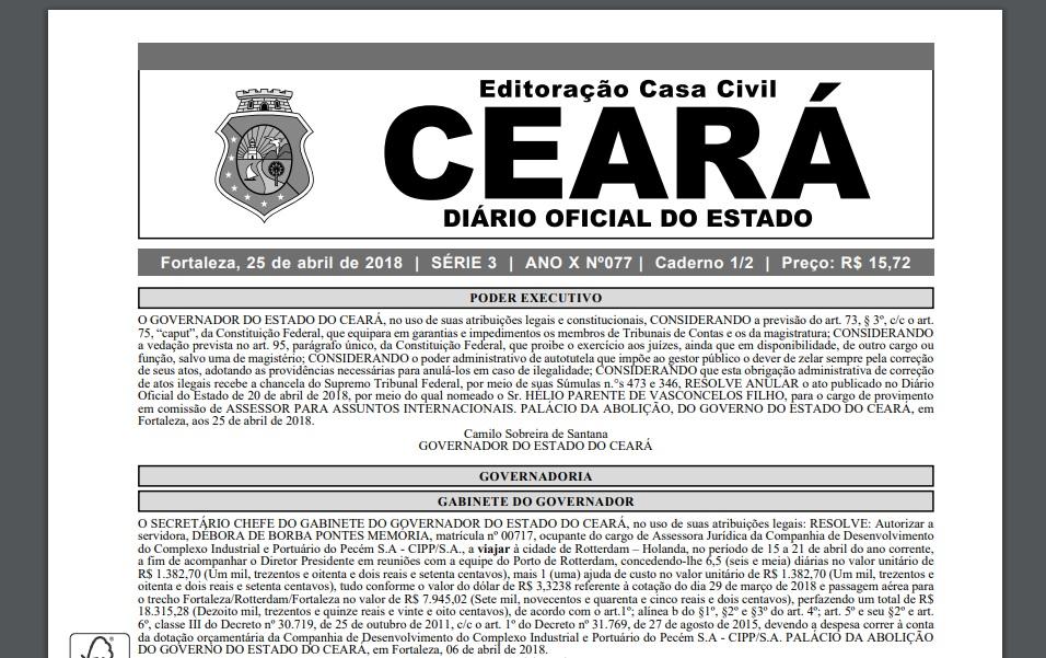 Promoção por Titulação: Publicados novos atos no Diário Oficial