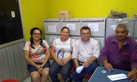 Abaiara: APEOC participa de audiência com Prefeitura e discute pautas da categoria