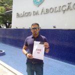 Anizio Melo entrega Carta ao Governador cobrando pautas pendentes da categoria
