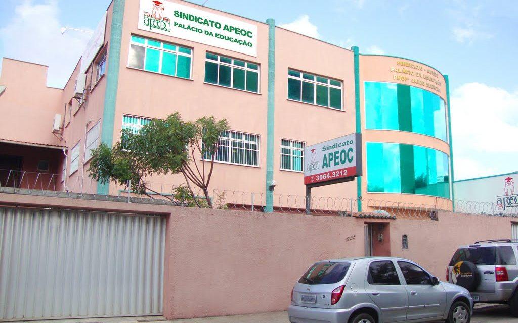 Comunicado: A sede do Sindicato APEOC funcionará até meio dia nesta sexta-feira (6)