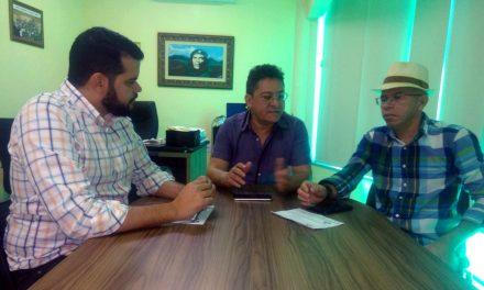 Fortim: Presidente Reginaldo Pinheiro recebe Comissão Municipal