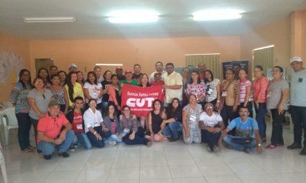 Crato: Sindicato APEOC participa do 2º Módulo do Curso de Política e Gestão Sindical da CUT