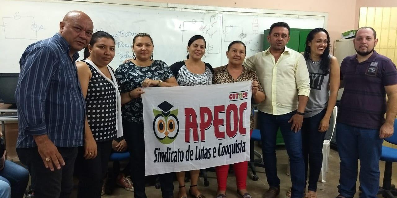 Icó: Nova Comissão Municipal do Sindicato APEOC é eleita e empossada