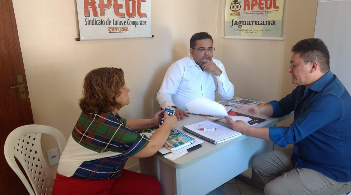Jaguaruana: Sindicato APEOC presta atendimento jurídico e encaminha demandas