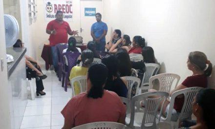 Parambu: Comissão Municipal se reúne para discutir pautas da categoria
