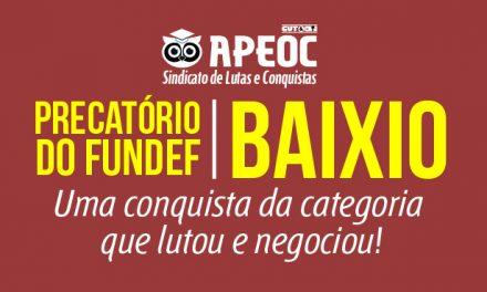 Baixio: Sindicato APEOC e a Comissão Municipal garantiram mais de 4 milhões para os professores