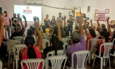 Alto Santo: Comissão Municipal do Sindicato APEOC é eleita e empossada