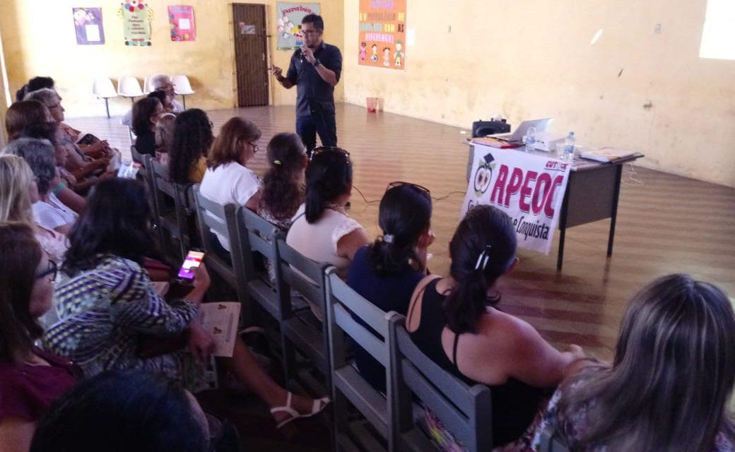 Cedro: Sindicato APEOC participa de debate sobre Financiamento da Educação