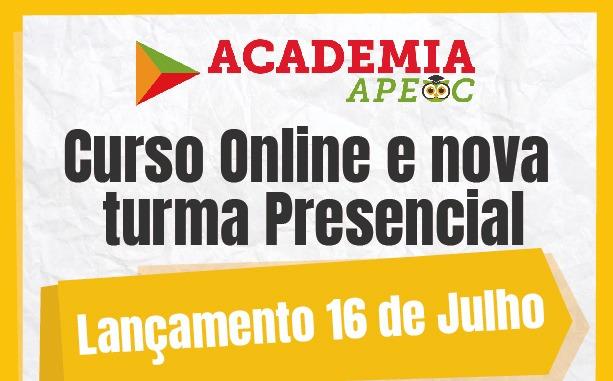 Academia APEOC: Curso preparatório online e presencial será lançado em 16 de julho