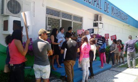 Maranguape: Manifestação de professores cobra demandas da categoria
