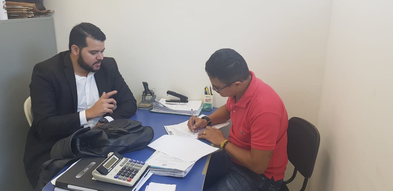 Fortim: Sindicato APEOC se reúne com diretor da Previdência Municipal dos Servidores