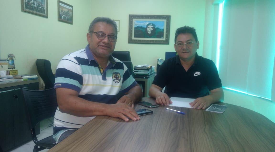 Morada Nova: Dirigente da Comissão Municipal é recebido pelo presidente do Sindicato APEOC