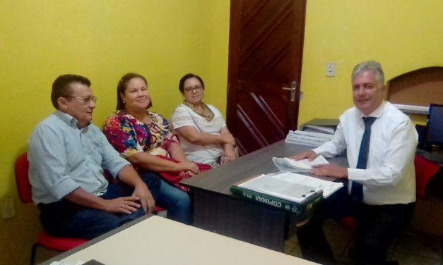 Abaiara: Sindicato APEOC se reúne com Procurador para debater demandas da categoria
