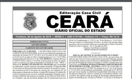 Promoção por Titulação: Novos atos publicados nesta segunda-feira (06) no DOE