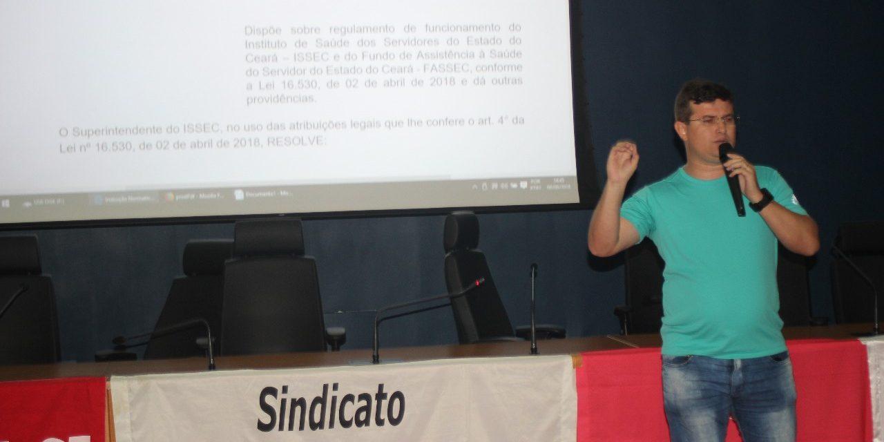 NOVO ISSEC: Seminário debate regulamentação e adesão Online
