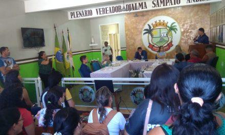 Palmácia: Sindicato APEOC se reúne com motoristas do transporte escolar e acompanha aprovação de mensagem na Câmara Municipal