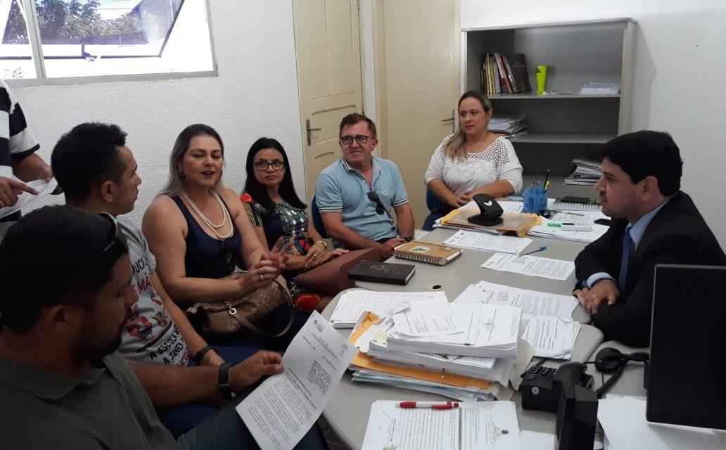 São Gonçalo do Amarante: Sindicato APEOC se reúne com procurador do município