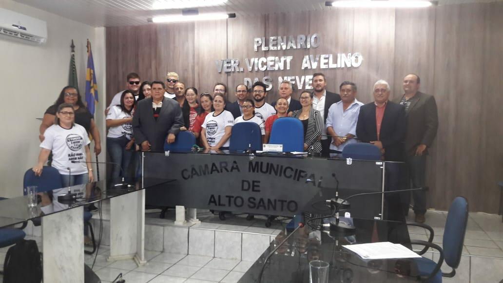 Alto Santo: Comissão Municipal reivindica 1/3 de planejamento