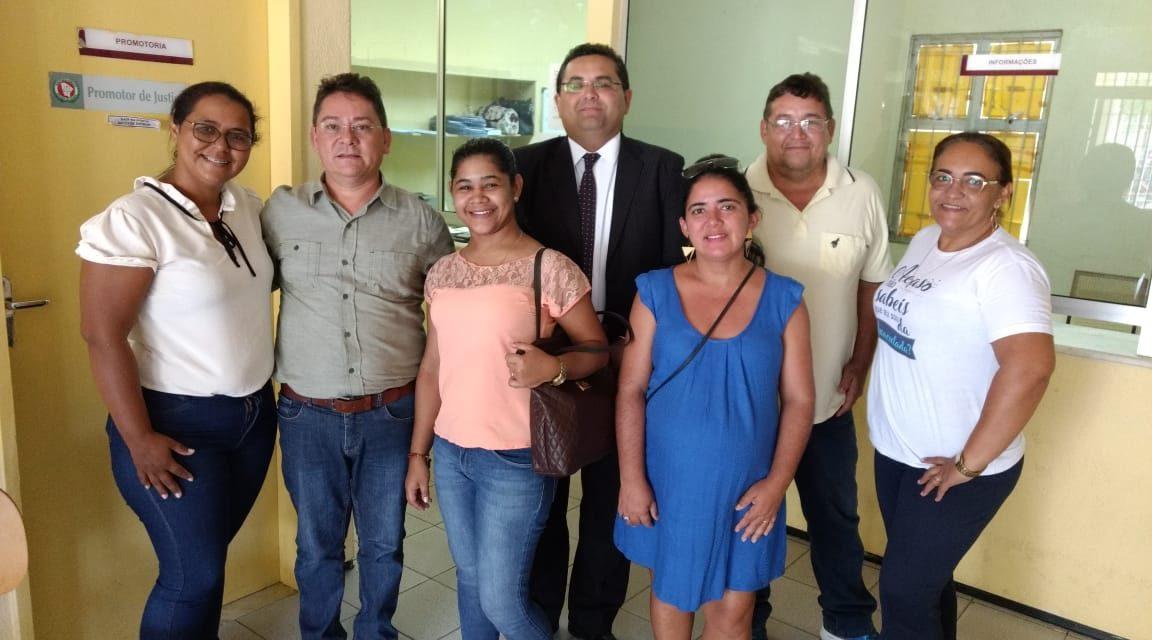 Caridade: Sindicato APEOC participa de audiência com promotora de justiça sobre precatórios do FUNDEF