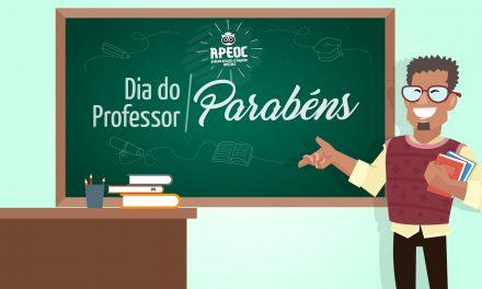 Anizio Melo parabeniza toda a categoria pelo Dia do Professor