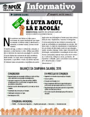 Informativo – Campanha Salarial – ISSEC