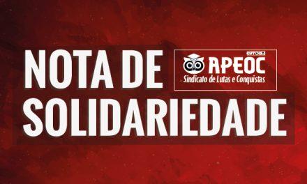 Nota de Solidariedade ao Professor França Pinheiro