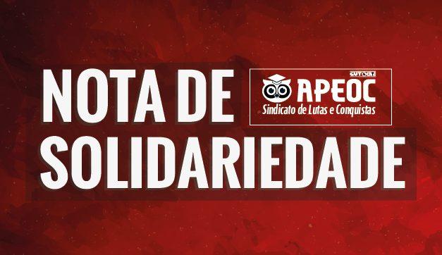 Nota de Solidariedade: Aos militantes do MST assassinados na Paraíba