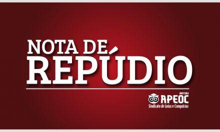 NOTA DE REPÚDIO AO CANAL DE DENÚNCIAS CONTRA OS PROFESSORES E PROFESSORAS DO BRASIL