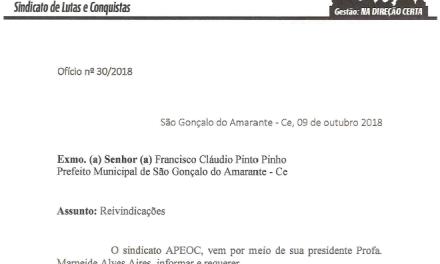 São Gonçalo: Comissão Municipal reivindica resposta de ofícios protocolados na Prefeitura