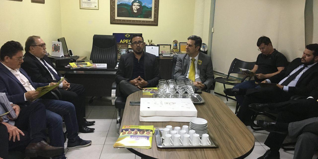 Presidente Anizio Melo parabeniza a vitória de Erinaldo Dantas na eleição da OAB